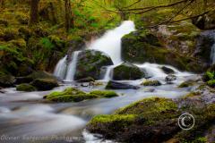 Waterfall La Canche